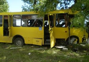 новости Черкасской области - ДТП - автобус - В Черкасской области автобус врезался в дерево, у водителя произошел сердечный приступ