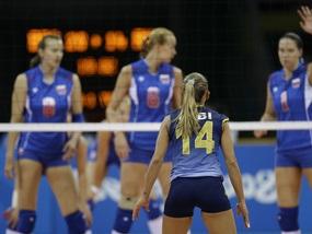 Волейбол: Росія програє другий матч поспіль