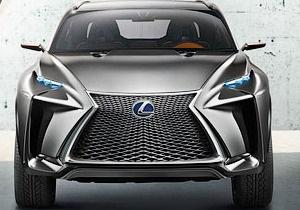 Lexus показал прототип нового компактного кроссовера