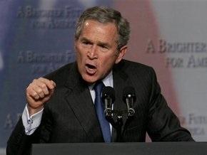 Буш: Проект помощи автопрому США еще не готов
