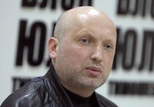До Тимошенко приїхав Турчинов
