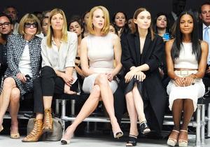 Николь Кидман, Руни Мара и Анна Винтур посетили юбилейный показ Calvin Klein в Нью-Йорке