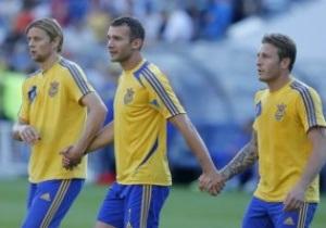 Тимощук не хочет, чтобы Шевченко и Воронин покидали сборную Украины