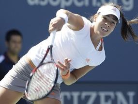 US Open: Ана Іванович важко проходить далі