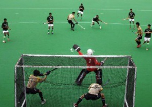 Хоккеистов на Олимпиаде-2012 заставят играть на синем газоне
