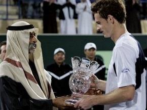 Фотогалерея: Тріумф Мюррея на турнірі в Абу-Дабі