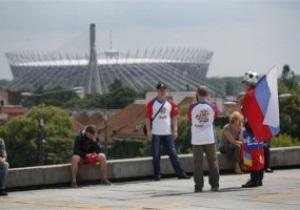 Кровь на Евро-2012. Российские болельщики отбили нападение польских фанатов