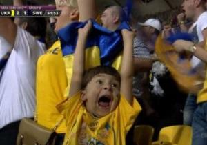 Журналисты нашли мальчишку, который стал символом победы сборной Украины