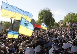 9 травня - новини Львова - Львівська облрада закликає місцеву владу вивісити на 9 травня національні прапори із жалобною стрічкою