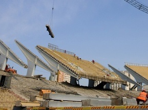 Інспектор УЄФА задоволений ходом реконструкції НСК Олімпійський