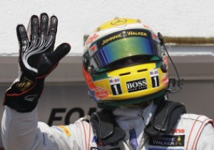 Хемілтон завоював поул на Гран-прі Угорщини