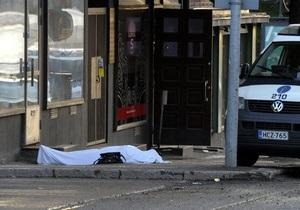 Фінська поліція заарештувала 18-річного стрільця, який відкрив стрілянину по перехожих