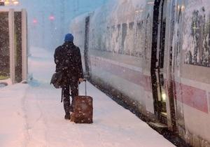 В Германии отменили сотни поездов из-за забастовки железнодорожников
