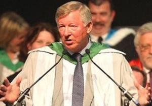 Тренер Манчестер Юнайтед получил докторскую степень