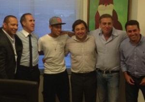 Здійснилося. Неймар підписав контракт з Барселоною