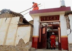 Новини Китаю - землетрус у Китаї: кількість жертв досягла 28