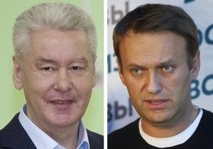 Фотогалерея: Собянин против Навального. В Москве состоялись выборы мэра
