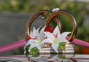 В августе количество свадеб в Киеве в восемь раз превысило число разводов
