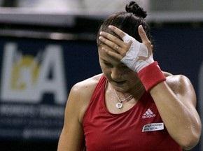 Лос-Анджелес WTA: Сафіна не змогла пробитися до 1/4