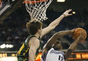 NBA: Юта с трудом удержала победный счет в матче с Сакраменто