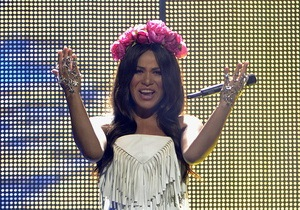 Українська співачка Гайтана виступила у фіналі Євробачення-2012