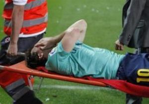 Месси получил травму в матче с Атлетико
