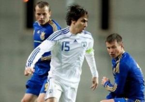 Сборная Украины летом сыграет с Израилем