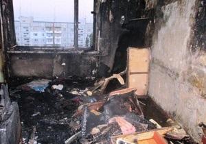 Під Запоріжжям чоловік врятував двох дітей з квартири, яка палала