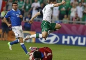 Италия - Ирландия - 2:0. Текстовая трансляция