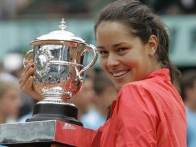 Іванович названа тенісисткою року