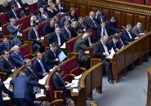 Депутаты отложили рассмотрение определяющих судьбу Тимошенко законопроектов