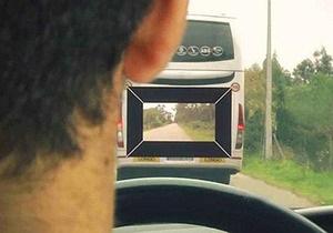 Инженеры создали лобовое стекло, позволяющее видеть сквозь автомобили
