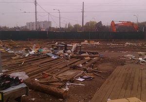 Секонд-хэнд на Лесной - Киев - В Киеве снесли один из самых известных секонд-хэндов
