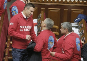 Упрощенные регистрация и учет: что собой представляет закон, взбудораживший соратников Кличко