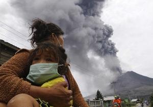 В Индонезии эвакуировали более 3-х тысяч человек из-за извержения вулкана