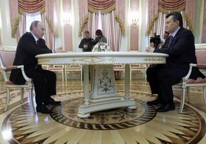 СМИ: Янукович и последний шанс Путина перед Вильнюсом