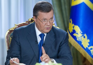 С начала года Януковичу поступило 53 ходатайства о помиловании Тимошенко
