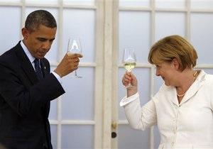 Обама и Меркель по телефону договорились развивать сотрудничество по линии разведки
