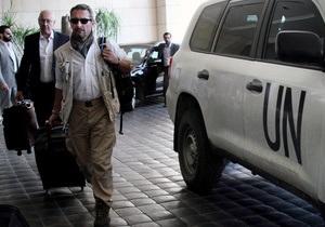 ОЗХО ожидает, что Дамаск предоставит график по уничтожению химоружия в течение суток - СМИ