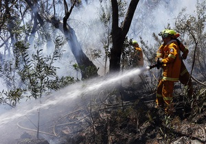 Пожар возле Сиднея начался из-за учений австралийских военных