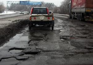 Власти отремонтируют трассу Киев-Чернигов за 38 млн гривен за километр