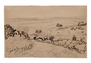 Рисунок Ван Гога выставят на онлайн-торги