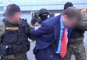 В интернете появилось видео задержания криминального авторитета в Борисполе