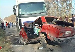 ДТП - Хмельницкая область - В Хмельницкой области в ДТП погибла вся семья
