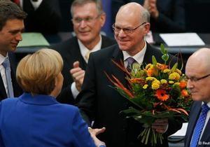 Германия - В Германии избрали председателя правительства