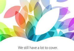 Презентация Apple - iPad - iPad mini - Сегодня Apple может представить новые iPad