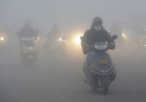 Смог парализовал жизнь 11-миллионного города в Китае