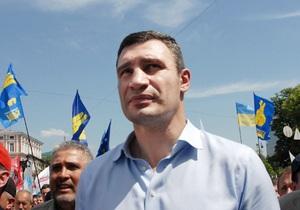 Опрос: Кличко настигает Тимошенко в рейтинге кандидатов в президенты