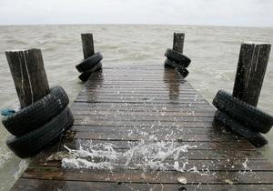 Азовское море - Рыбака унесло в море - Происшествие в Азовском море: Спасатели ищут рыбака, лодку с которым унесло порывами ветра