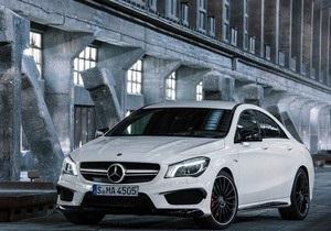 Mercedes-Benz - Гоночный Mercedes-Benz CLA модифицируют для городских дорог